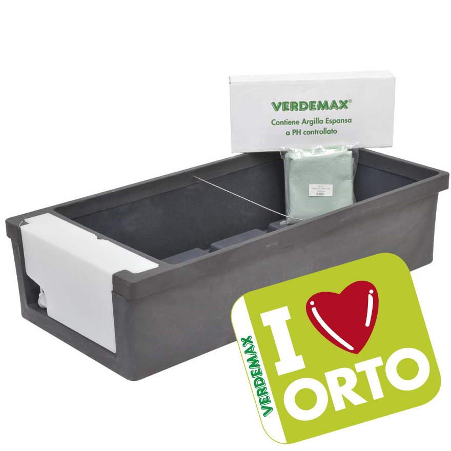 Orto urbano i love orto orto in terrazzo verdemax for Cassoni per orto rialzato