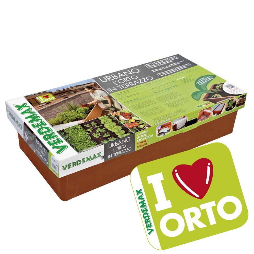 Orto Urbano - I Love Orto - Orto in terrazzo Verdemax - Codice: 2248