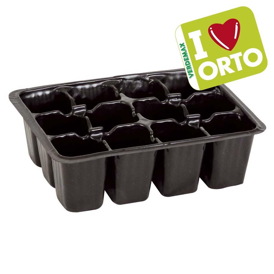 Semenzaio in plastica i love orto accessori per la for Vasi per semina