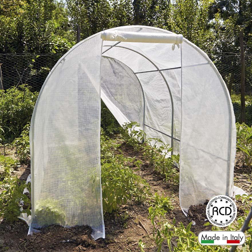 Serra siberia serre per orto verdemax codice 2461 for Archi per serre da orto