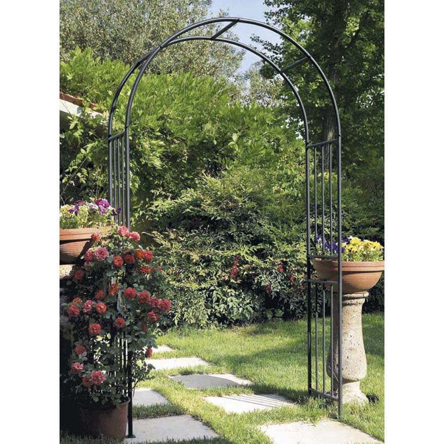Arco in ferro da giardino prestige archi verdemax - Archi per giardino ...