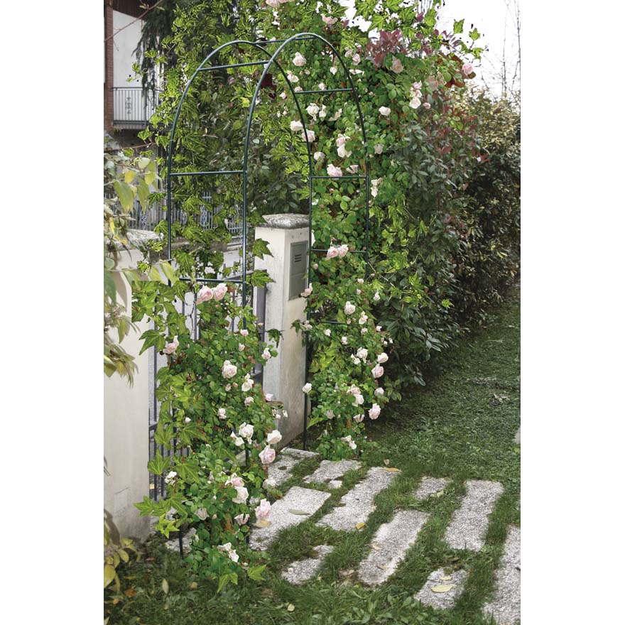 Arco in ferro decorativo per rampicanti archi verdemax - Archi per giardino ...