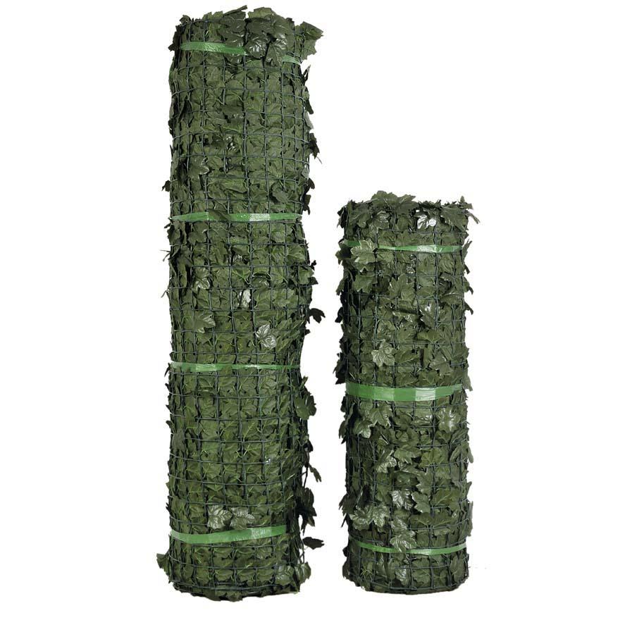 Siepe verdecor a foglie tipo edera siepi verdemax for Rete con foglie finte