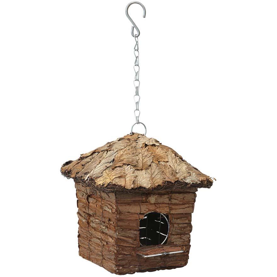 Famoso Casetta a capanna quadrata con tetto ricoperto di foglie - Casette  NS97