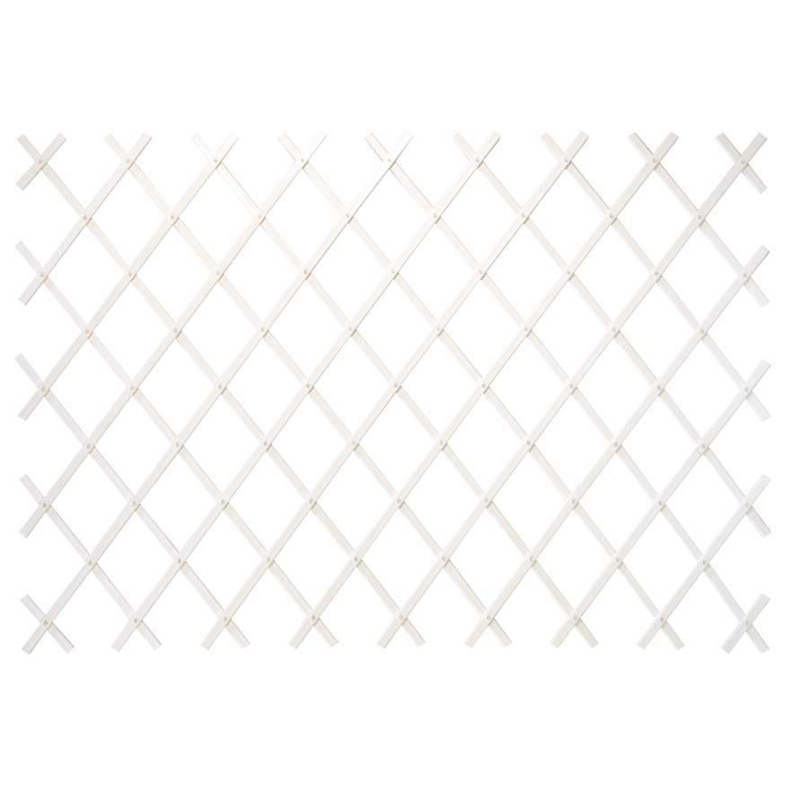 Traliccio Estensibile In Pvc Colore Bianco Tralicci In Pvc