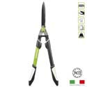 Wavy blade hedge shear with telescopic handle