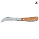 Multipurpose grafting knife, wood handle